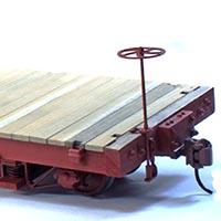 Build a Simple Truss Rod Underframe Flatcar From Scratch