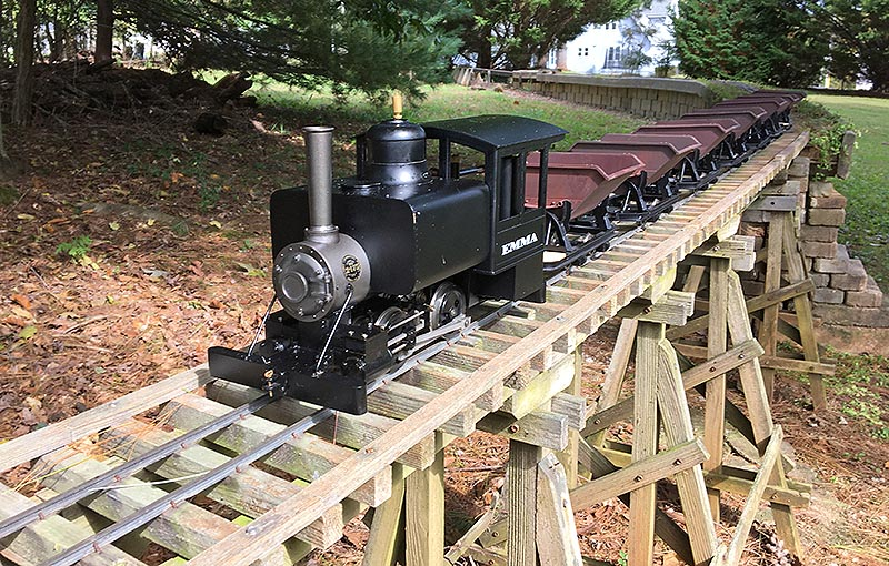 Getting Started in Live Steam Garden Railroading