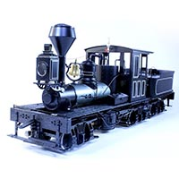 The Buffalo Shay by Missouri Locomotive Company